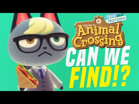 HUNT to WIN RARE Animal Crossing Villagers in New Horizons! (CAN WE FIND RAYMOND!?)