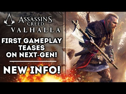 Assassin's Creed Valhalla New Gameplay Trailer Shows Raids! Shorter Than Odyssey! Xbox Series X PS5
