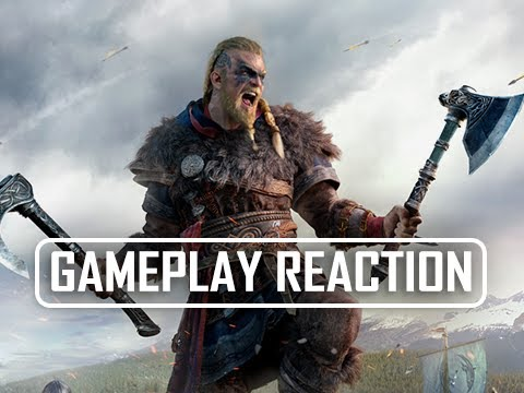 Assassin's Creed Valhalla Gameplay Reveal Trailer Reactions with No Gameplay