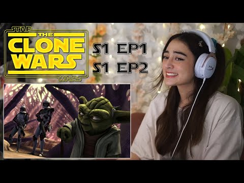 DON'T MESS WITH YODA! / Star Wars: Clone Wars S1E1 & S1E2 Reaction
