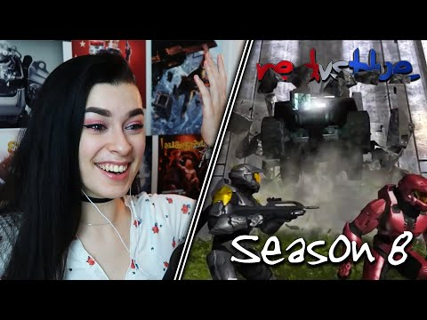 THIS IS BADASS... | Red vs. Blue Reaction | Season 8 | EP 1-6
