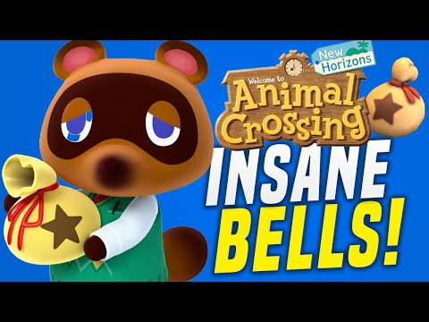 MAKE FAST Bells in Animal Crossing New Horizons w/ INSANE Money Prices! (Animal Crossing Tips)