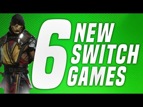 6 JUST Announced NEW Switch Games Coming to Nintendo eShop! (Switch News)