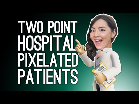 Two Point Hospital Stream: PIXELATED PATIENTS! (Two Point Hospital on Xbox One)