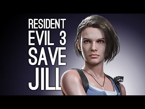 Let's Play Resident Evil 3: SAVE JILL! (Resident Evil 3 Remake Playthrough Ep. 4)