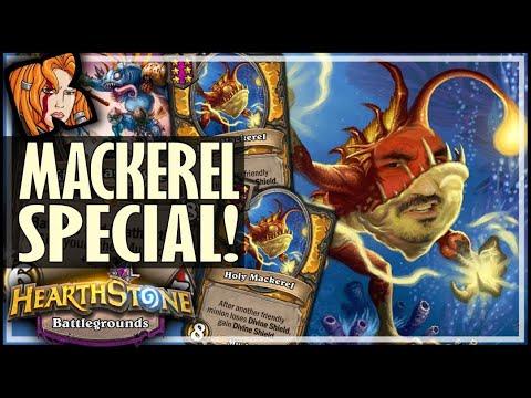 THE MACKEREL SPECIAL! - Hearthstone Battlegrounds