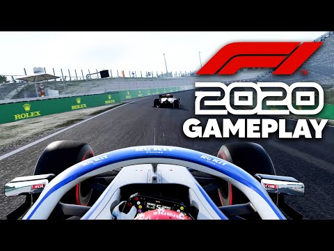 F1 2020 EXCLUSIVE 25 MINUTES OF GAMEPLAY