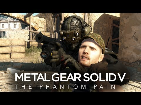 Metal Gear Solid V The Phantom Pain - EP4 C2W (All Tasks, Perfect Stealth, S Rank)