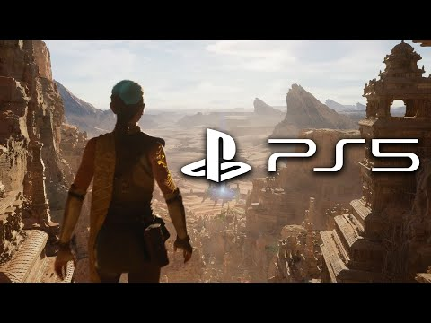 PS5 Gameplay - Real Time Gameplay (Unreal Engine 5)