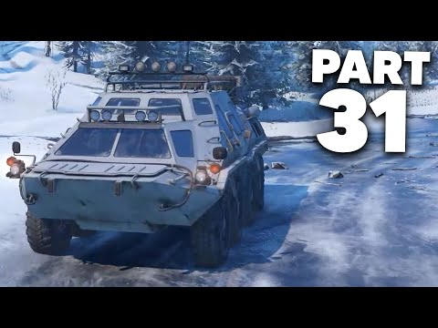 SNOWRUNNER Gameplay Walkthrough Part 31 - YOU CAN'T SEE ME