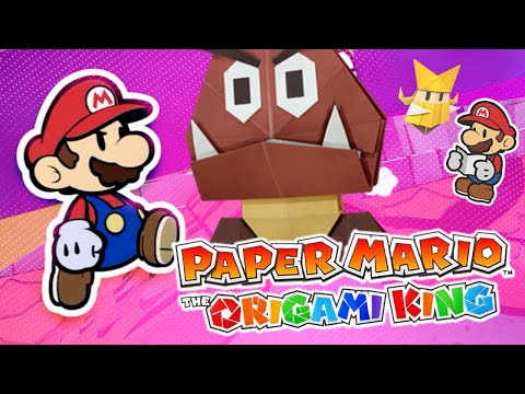 NEW Paper Mario Origami King Coming July 2020! Gameplay Trailer Reaction! (Switch News Update)