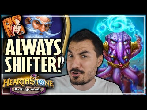 ALWAYS SHIFTER WITH MILLHOUSE! - Hearthstone Battlegrounds