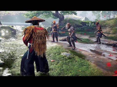 18 MINUTES OF GHOST OF TSUSHIMA GAMEPLAY -  Reaction
