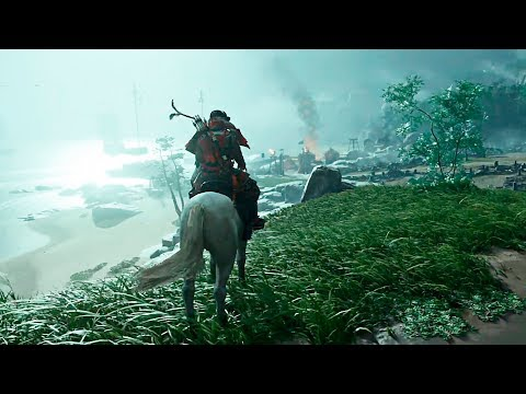 GHOST OF TSUSHIMA - NEW Gameplay Demo Walkthrough 2020 [PS4]
