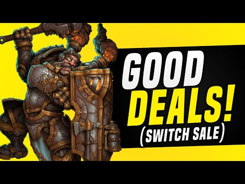 FUN Nintendo Switch eShop Sale AVAILABLE NOW!