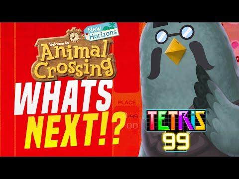 NEW Update Brings Animal Crossing New Horizons to Tetris 99!  SWITCH CROSSOVERS WE WANT!