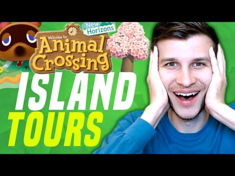 Visiting YOUR Islands in Animal Crossing! New Horizons Tips and Tricks (New Switch Gameplay)