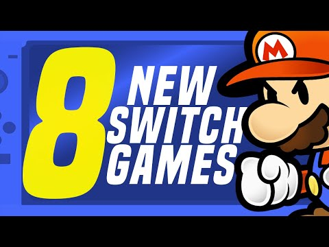 8 HUGE NEW Switch Games JUST Announced Coming to Nintendo eShop! (Switch Update Releases)