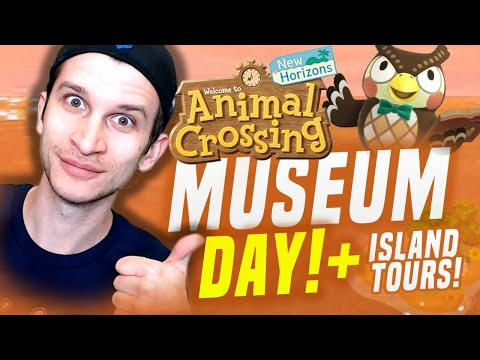 MUSEUM DAY UPDATE FEATURES in Animal Crossing + 5 Star Island Tour (New Horizons Tips)