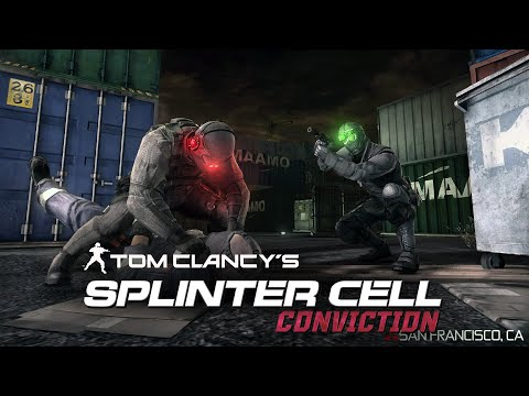 Splinter Cell Conviction Aggressive Stealth - San Francisco, CA (Realistic, No Mark and Execute)
