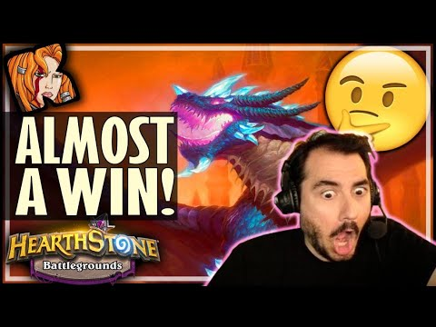 LET'S CALL THIS A WIN! - Hearthstone Battlegrounds