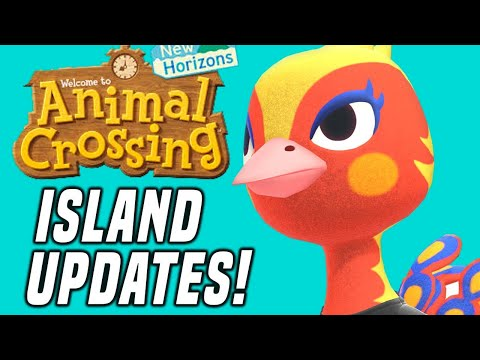 NEW VILLAGERS In Animal Crossing Island Updates And More! (New Horizons Tips and Tricks)