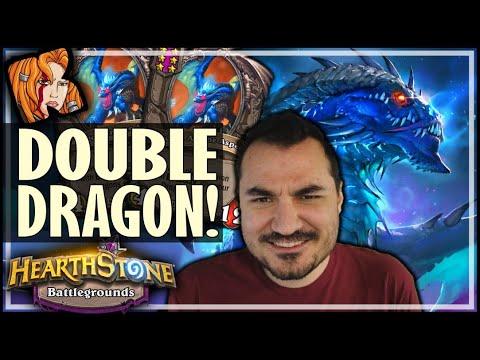 DOUBLE DRAGON WINS! - Hearthstone Battlegrounds