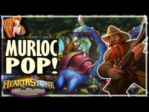 THE MURLOC POP! - Hearthstone Battlegrounds