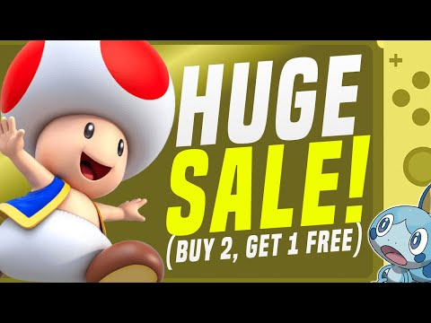 MASSIVE Nintendo Switch Memorial Day Games Sale!  (Switch eShop Deals!)