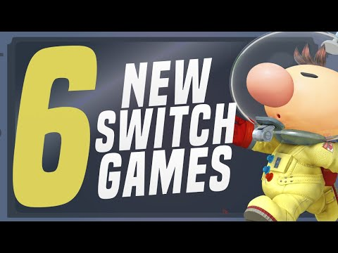 6 BIG NEW Switch Games JUST Announced Coming to Nintendo eShop! (Switch Update Releases)