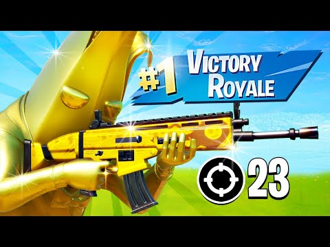 FULL GOLD PEELY SQUAD!! (Fortnite Battle Royale)