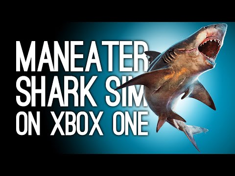Maneater Xbox One Shark Sim Gameplay - ECCO THE DOLPHIN BUT EVIL - Let's Play Maneater on Xbox One