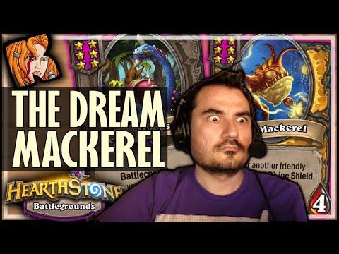 FINALLY! THE DREAM MACKEREL! - Hearthstone Battlegrounds
