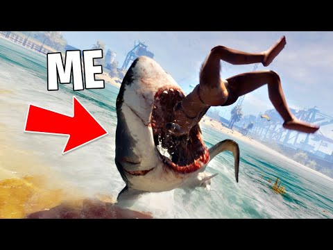 PLAY AS A KILLER SHARK!! (Maneater, Part 1)