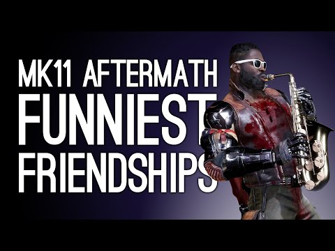 Mortal Kombat 11 Aftermath Friendships: 14 Funniest Friendships You Have to See in MK 11