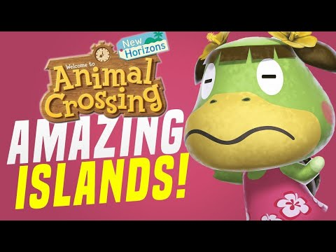 FINDING BEST FEATURES for Animal Crossing Island Update! (New Horizons Tips)