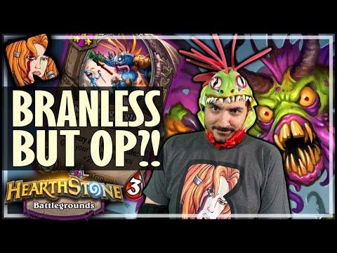 THE MOST INSANE BRANNLESS MURLOCS?! - Hearthstone Battlegrounds