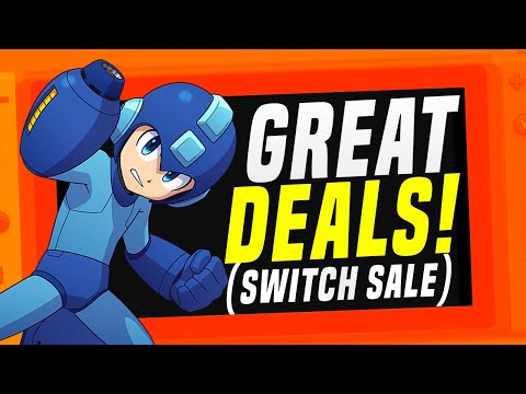 GREAT Nintendo Switch MAY Games Sale!  (Switch eShop Deals!)
