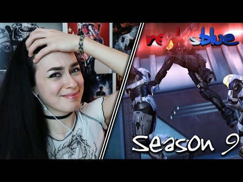THAT'S NOT COOL... | Red vs. Blue Reaction | Season 9 | EP 8-13
