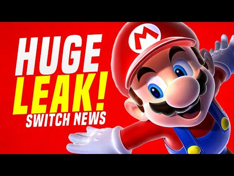 TONS of NEW Unannounced Nintendo Switch Games Found! MAJOR E3 LEAK!? (Switch News)