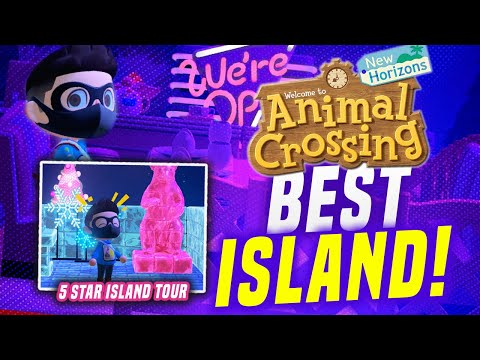 The BEST Island in Animal Crossing New Horizons! (5 Star Island Tour)