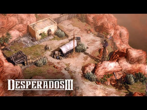 Desperados 3 - Mission 1: Once Upon A Time (Desperados Difficulty, No Saves)