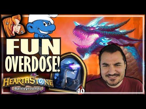 SMURF DRAGONS = FUN OVERDOSE! - Hearthstone Battlegrounds