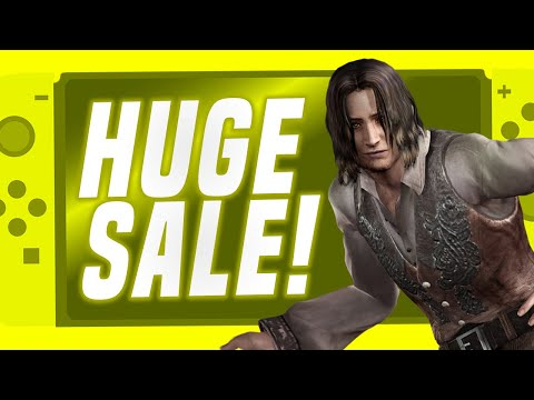 MASSIVE Cheap Nintendo Switch Game Sale! (Switch eShop Deals + Physical)