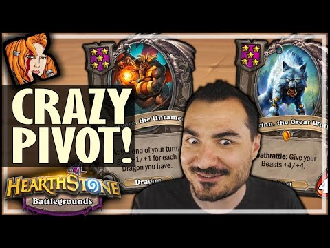 FROM DRAGONS TO BEASTS?! - Hearthstone Battlegrounds