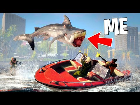 PLAY AS A KILLER SHARK!! (Maneater, Part 2)