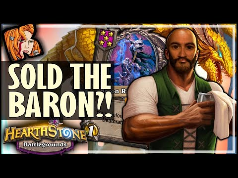 TRIPLE BARON? SOLD IT! - Hearthstone Battlegrounds