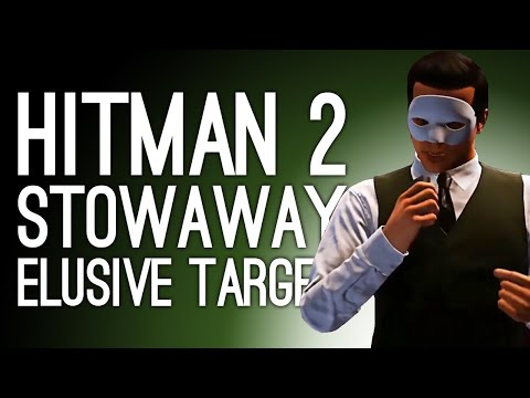 Hitman 2: 2 Ways to Play Elusive Target THE STOWAWAY (Mike Attempts Stealth, Dozens Die)