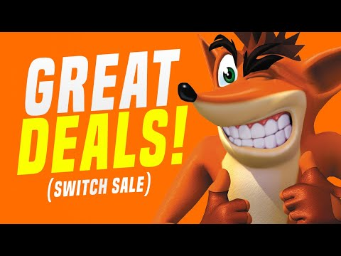 HUGE Nintendo Switch Game Sale Available NOW! (Switch eShop Deals in Europe)