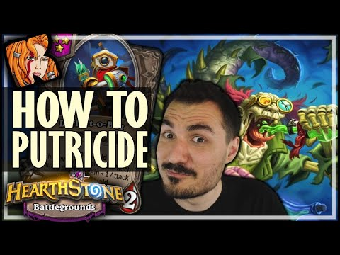 I ACTUALLY PICKED PUTRICIDE! - Hearthstone Battlegrounds
